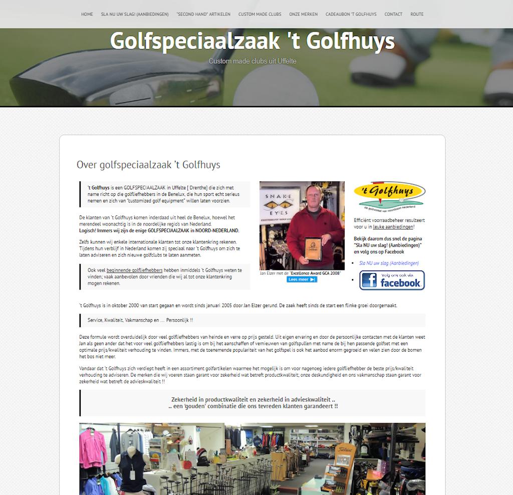 Golfspeciaalzaak 't Golfhuys